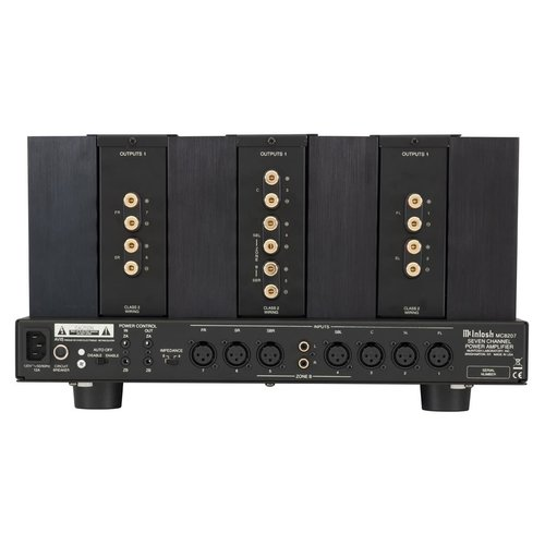 View Larger Image of MC8207 7-Channel Power Amplifier (Black)