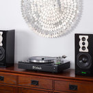 View Larger Image of MTI100 Integrated Turntable with Built-In Preamp & Amp