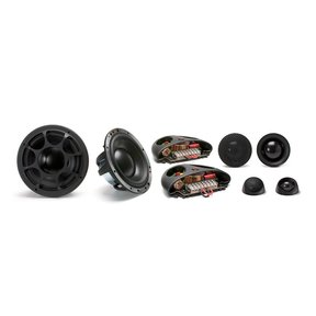"""Elate Ti 603 Active 6-1/2"""" 3-Way Component Speakers (No Crossovers)"""