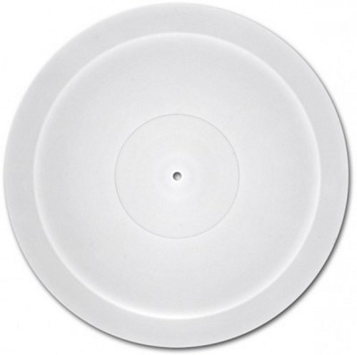 View Larger Image of Acriplat Acrylic Turntable Platter (White)