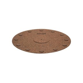 Decoupling Cork Turntable Mat