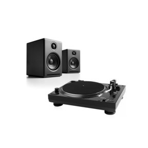 USB-1 Turntable Package With Pair of Audioengine A2+ Desktop Speakers