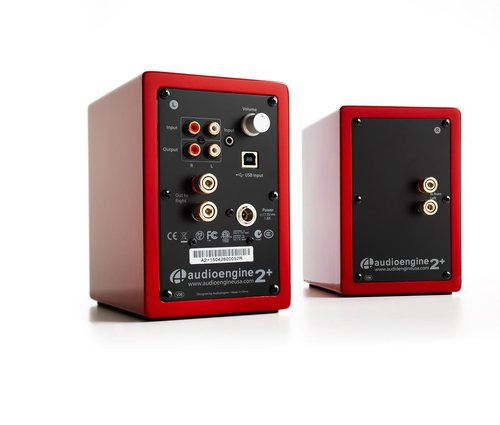 View Larger Image of USB-1 Turntable Package With Audioengine A2+ Limited Edition Desktop Speakers (Red), S8 Subwoofer, B1 Bluetooth Receiver and DS1 Speaker Stands