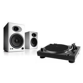 USB-1 Turntable Package With Pair of Audioengine A5+ Bookshelf Speakers