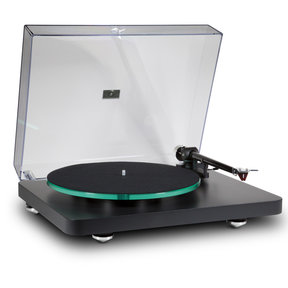 "C 588 2-Speed Turntable with 9"" Carbon Fiber Tonearm (Black)"