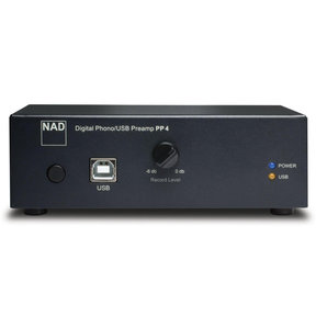 PP 4 Phono to USB Preamplifier (Black)