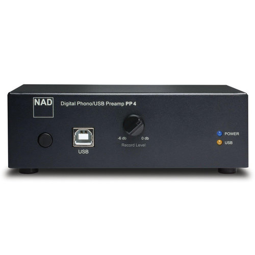 View Larger Image of PP 4 Phono to USB Preamplifier (Black)