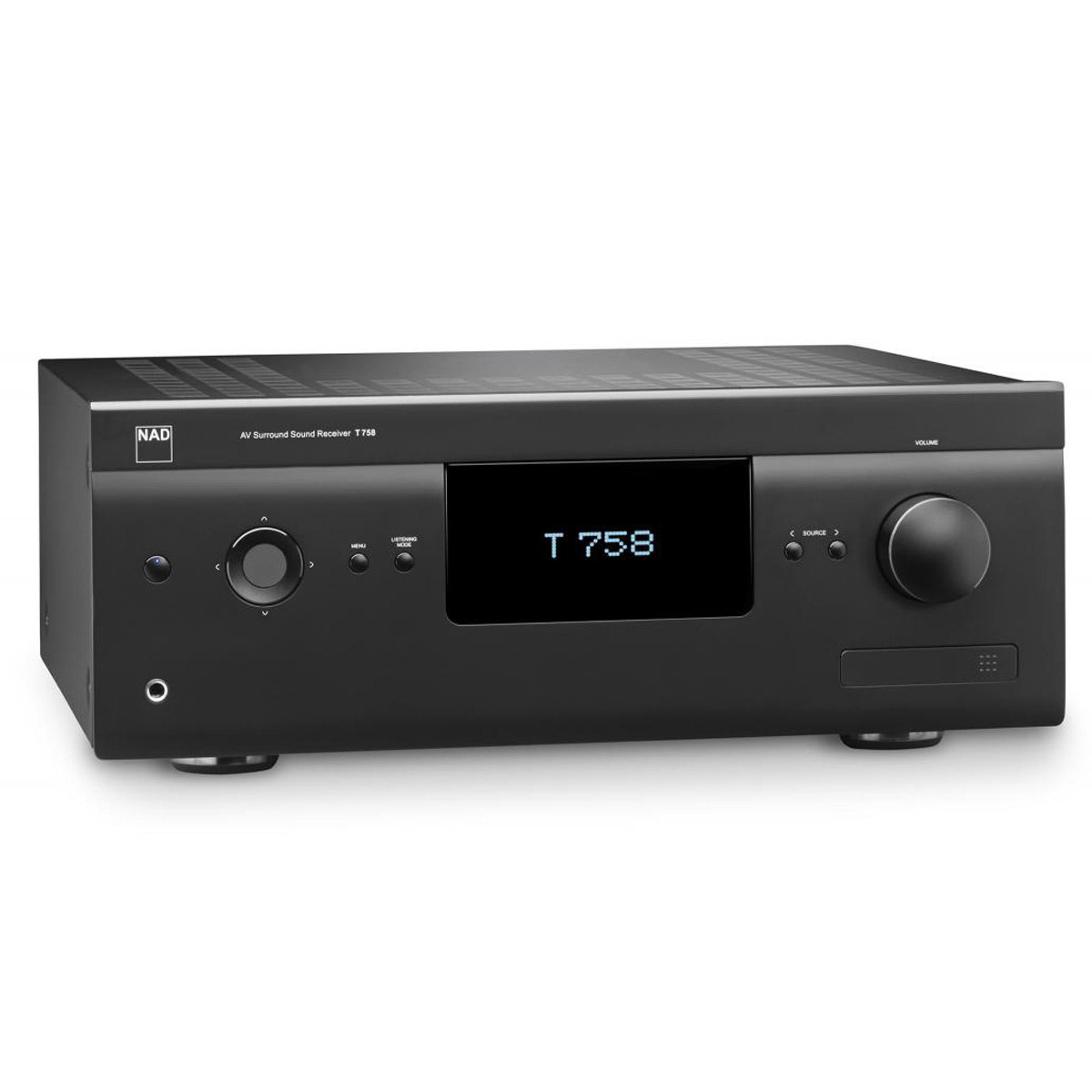 View Larger Image of T 758 V3 7.1 A/V Surround Sound Receiver