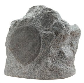 RS6PRO 6-1/2' Two-Way Weatherproof Rock Speaker - Each (Speckled Granite)