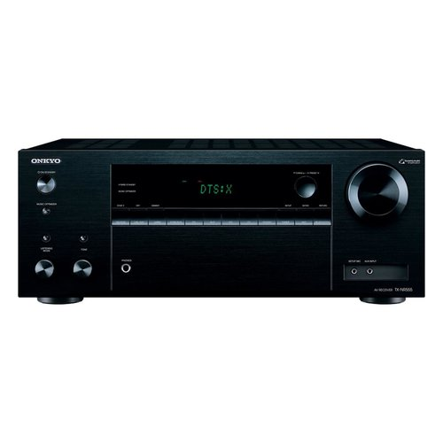 View Larger Image of TX-NR555 7.2 Channel A/V Wireless Network Receiver with HDCP2.2/HDR DTS and Bluetooth and Klipsch R-26F Reference Floorstanding Speakers - Pair (Black)