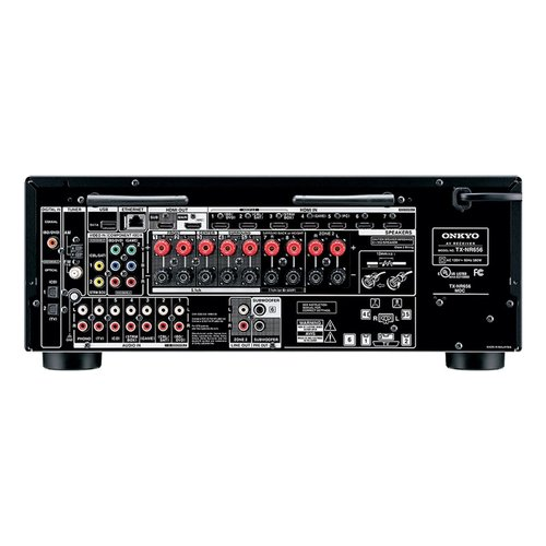 View Larger Image of TX-NR656 7.2 Channel A/V Wireless Network Receiver HDCP 2.2/HDR DTS & Bluetooth and 6-Outlet Floor Power Strip with USB Charging