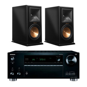 TX-RZ710 7.2 Channel A/V Wireless Network Receiver with RP-160M Reference Premiere Monitor Speakers (Piano Black)