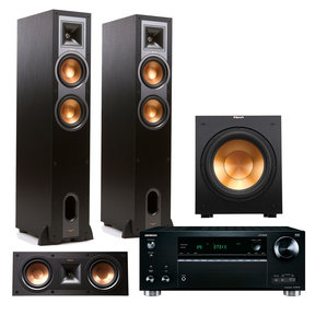 TX-RZ710 7.2 Channel Network A/V Receiver with Klipsch R26F 3.1 Reference Home Theater Package