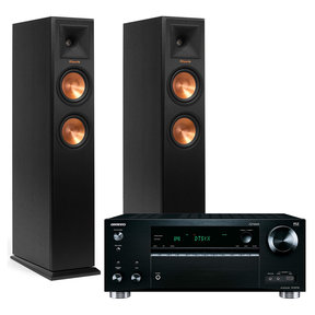 TX-RZ710 7.2 Channel Network A/V Receiver with Klipsch RP-250F Reference Premiere Floorstanding Loudspeakers - Pair (Black)