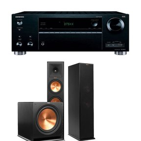 TX-RZ710 7.2 Channel Network A/V Receiver with Klipsch RP-280F 2.1 Reference Premiere Home Theater Package