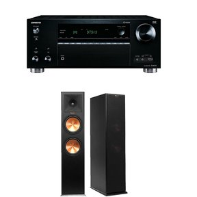 TX-RZ710 7.2 Channel Network A/V Receiver with Klipsch RP-280F Reference Premiere Floorstanding Loudspeaker Pair (Black)