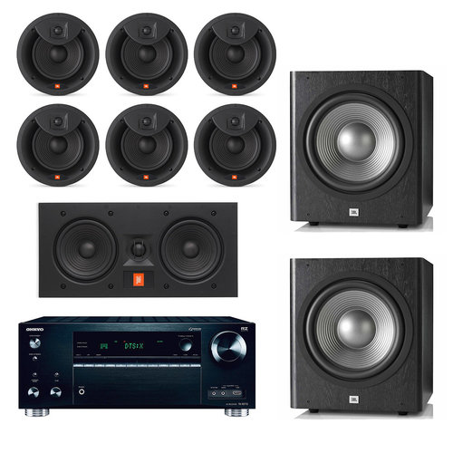 "View Larger Image of TX-RZ710 Home Theater Wireless Network Receiver with JBL Arena 8"" 7.2 channel In-Ceiling/In-Wall Loudspeaker Bundle"