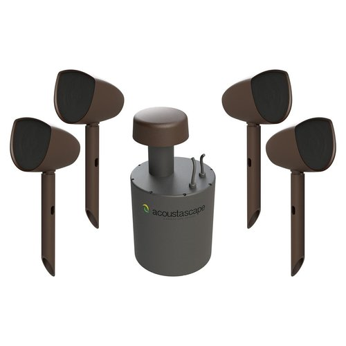 View Larger Image of AS4.1 Acoustic Landscape Hi-Fi Outdoor Audio System with Speaker Expansion Pack