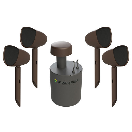 View Larger Image of AS4.1 Acoustic Landscape Hi-Fi Outdoor Audio System