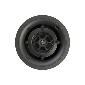 D84 Director Fully Pivoting 3-Way In-Ceiling Speaker - Each (Black)