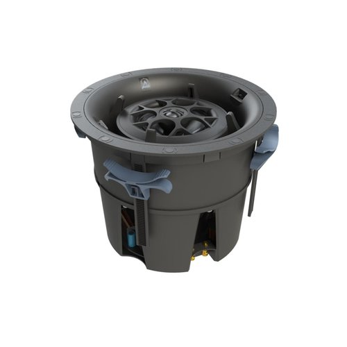 View Larger Image of D84 Director Fully Pivoting 3-Way In-Ceiling Speaker - Each (Black)
