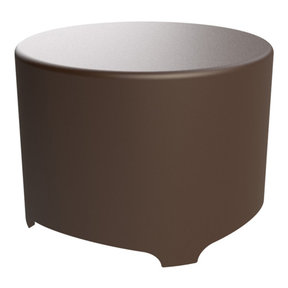 OSUB10P Outdoor Patio Subwoofer with Weatherproof Enclosure (Brown)