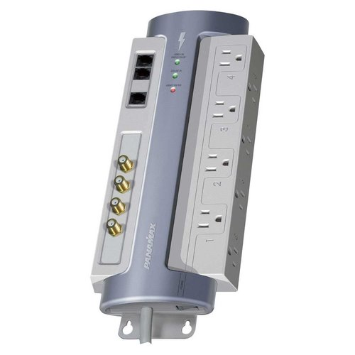 View Larger Image of M8-AV Hi-Definition 8 Outlet Surge Protector