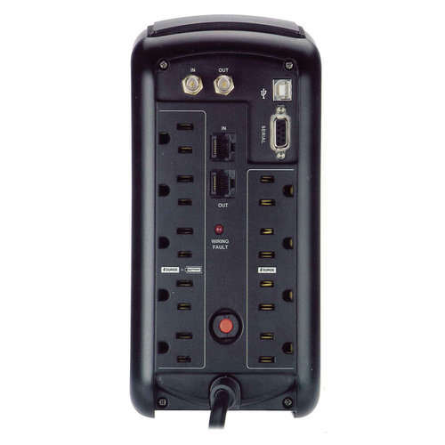 View Larger Image of MB850 Battery Backup Surge Protector
