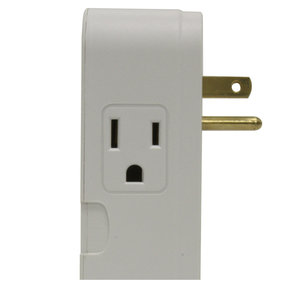 MD2-C 2 Outlet Direct Plug-In and Coax