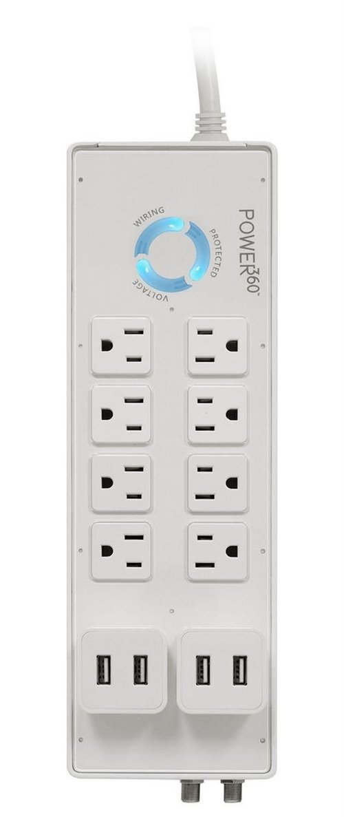 View Larger Image of Power360 8-Outlet Floor Strip