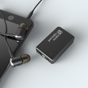 Nickel Battery-Powered Portable Headphone Amplifier (Black)