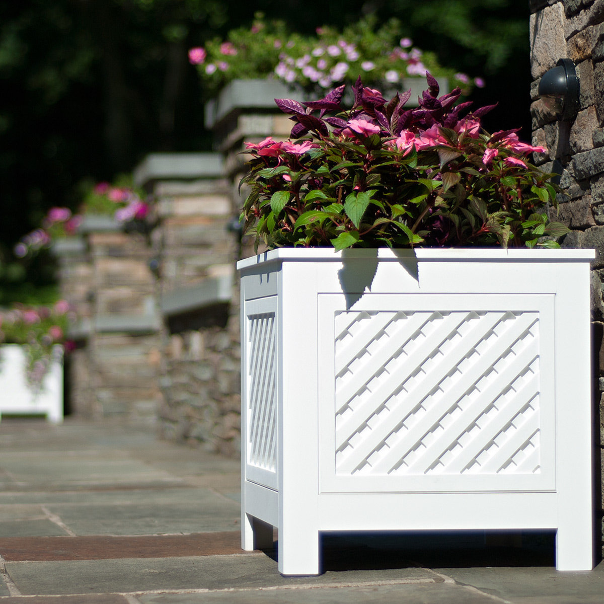 Outdoor Planter Speakers Amazing outdoor planter speakers amazing outdoor planter speakers planterspeakers azek north salem outdoor planter speakers with 180 view larger image workwithnaturefo