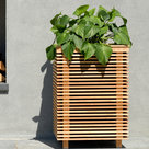 """View Larger Image of Piermont 17 17"""" Planter Speaker with 90-Degree Stereo Sound - Each"""