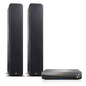 2.0 Signature Series S60 Floorstanding Speaker Package with HEOS AVR 5.1 Channel AV Receiver (Black)