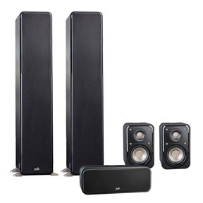 5.0 Signature Series S50 Home Theater Package with S10 Compact Satellite Surround Speakers and S30 Center Speaker
