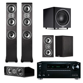 TSi 400 7.1 Home Theater Package with Onkyo TX-RZ710 7.2 Channel Network A/V Receiver