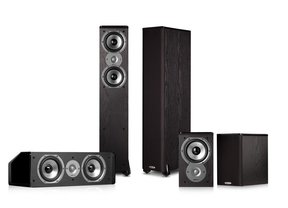 TSi300 5.0 Home Theater Speaker Package (Black)