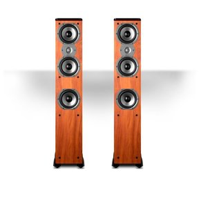 "TSi400 4-Way Tower Speakers with Three 5-1/4"" Drivers - Pair (Cherry)"