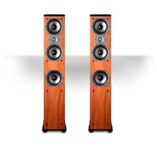 """View Larger Image of TSi400 4-Way Tower Speakers with Three 5-1/4"""" Drivers - Pair (Cherry)"""