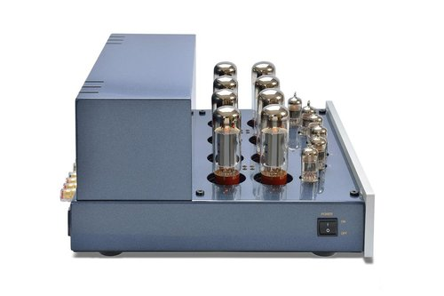 View Larger Image of DiaLogue Premium HP Stereo/Mono Power Amplifier (Silver)