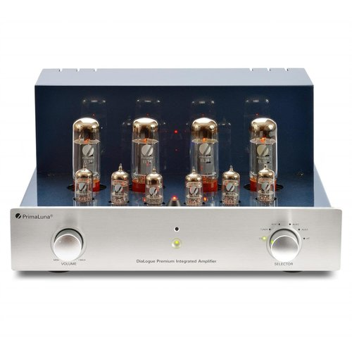 View Larger Image of DiaLogue Premium Integrated Amplifier (Silver)