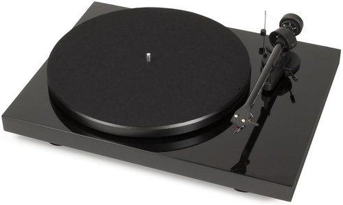 View Larger Image of Debut Carbon Phono USB Turntable With Ortofon OM10 Cartridge (Gloss Black)