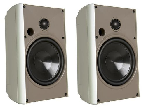 "View Larger Image of AW525 5.25"" 2-way Compact Indoor/Outdoor Stereo Speaker - Pair (White)"