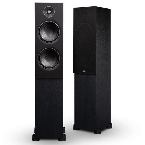 View Larger Image of Alpha T20 Floorstanding Speaker (Black) - Pair