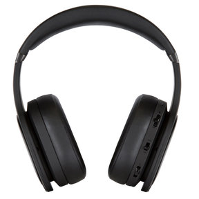 M4U 8 Wireless Active Noise-Cancelling Headphones with Built-In Mic and Remote (Black)