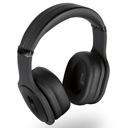 View Larger Image of M4U 8 Wireless Active Noise-Cancelling Headphones with Built-In Mic and Remote (Black)