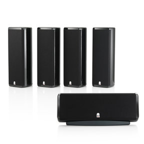 Concerta M8 SP5 5-Channel Home Theater Sound Support System (Black)