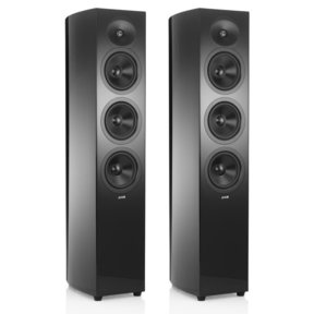 "Concerta2 F36 2 1/2-Way Triple 6.5"" Floorstanding Loudspeakers - Pair (Gloss Black)"