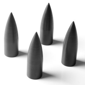 Archetype Furniture Spikes - Set of 4 (Black)