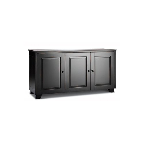 View Larger Image of Chameleon Hampton 337 Triple Wide Cabinet (Distressed Black)
